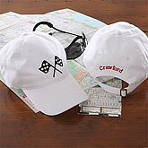 7 Sports© Baseball Cap - White - 5435-W