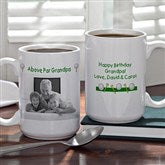 Par-fect Dad Personalized Golf Photo Mug- 15 oz. - 5474-L