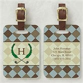 Golf Pro Personalized Bag Tag - 5486