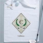 Golf Pro Personalized Golf Towel - 5497k-W