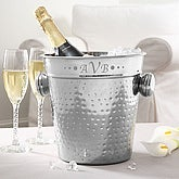 Hampton Monogram Ice Bucket & Chiller - 5499