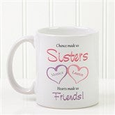 My Sister, My Friend Personalized Coffee Mug 11 oz.- White - 5513-S