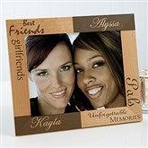 Best Friends Personalized Frame- 8 x 10 - 5518-L
