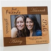 Best Friends Personalized Frame- 5 x 7 - 5518-M