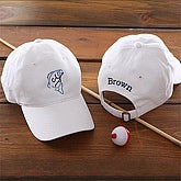 Fisherman© Personalized Cap- White - 5569-W