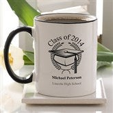 Graduation Cap Personalized Mug - 5612-C