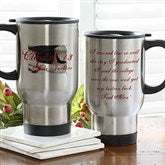 Graduation Quotation Stainless Steel Travel Mug - 5614-S
