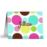 Crazy For Polka Dots Note Cards & Envelopes - 5645-N
