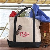 The Deluxe Weekender Raised Monogram Embroidered Tote - 5673-R