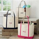The Deluxe Weekender Embroidered Name Tote - 5673-N