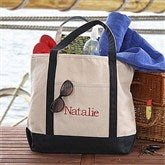 The Deluxe Weekender Name Embroidered Tote