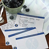Cook's Choice 3x5 Personalized Recipe Cards - 5687
