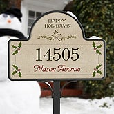 Season's Greetings- Yard Stake With Magnet - 5696-S