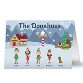 Winter Family Collection Cards & Envelopes - 5701-C