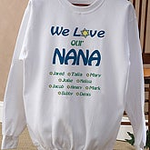 We Love You Judaica Adult Sweatshirt - 5702S