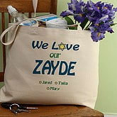 We Love You Judaica Tote Bag - 5702H