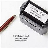 Family Is Forever Address Rubber Stamper - 5703-S