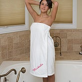 Spa Comfort© Ladies Embroidered Towel Wrap - 5707