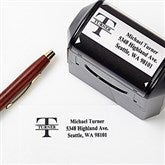 Namely Yours Address Rubber Stamper - 5739-S