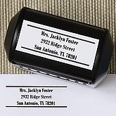 Inspiring Teacher Address Rubber Stamper - 5759-S
