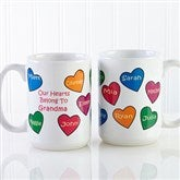 Our Hearts Belong To You Personalized Coffee Mug- 15oz. - 5837-L