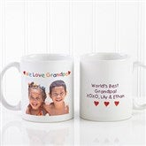Personalized Photo Message Coffee Mug 11 oz.- White - 5841-W