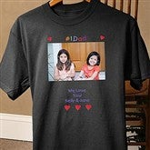 Loving Him© Black Photo Adult T-Shirt - 5844-BT