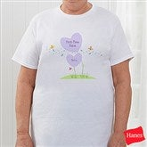 First Time Grandma Personalized Hanes® Adult T-Shirt - 5859T