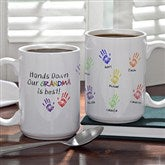 Hands Down Coffee Mug- 15 oz. - 5860-L