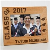 Hats Off Personalized Graduation Frame- 5 x 7 - 5903-M
