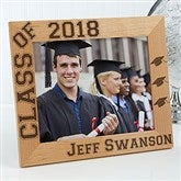 Hats Off Personalized Graduation Frame- 8 x 10 - 5903-L