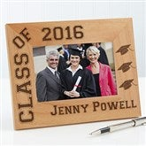 Hats Off Personalized Graduation Frame- 4x6 - 5903-S