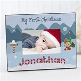 My First Christmas Personalized Frame - 5911