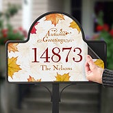 Autumn Greetings - Magnet Only - 5914-M