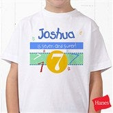 What's Your Number? Personalized Hanes® Youth T-Shirt - 5918YCT