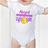 What's Your Number? Personalized Baby Bodysuit - 5918-CBB