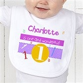What's Your Number? Personalized Bib - 5918-B