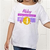 What's Your Number? Personalized Toddler T-Shirt - 5918-TT