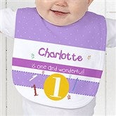 What's Your Number? Personalized Baby Bib - 5918-B