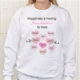 What Is Happiness?© White Sweatshirt - 5920-S