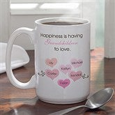 What Is Happiness? Coffee Mug- 15 oz. - 5920-15oz.