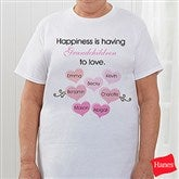 What Is Happiness? Personalized Hanes® Adult T-Shirt - 5920-CT