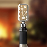 Dot To Dot Engraved Wine Stopper - 5954