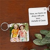 Picture Perfect Personalized Key Ring - 5958