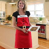Personalized Santa Apron - 5992