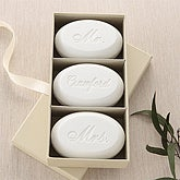 Mr. and Mrs. Collection© 3 Piece Guest Soap Set - 5993D