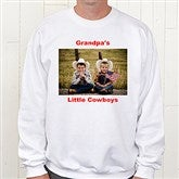 Picture Perfect Personalized Adult Sweatshirt - 6005S