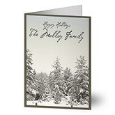 Winter Wonderland Personalized Christmas Cards - 6078-C