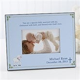 Christened With Faith© Personalized Frame - 6110