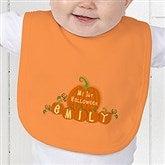 My 1st Halloween Personalized Baby Bib - 6133-B